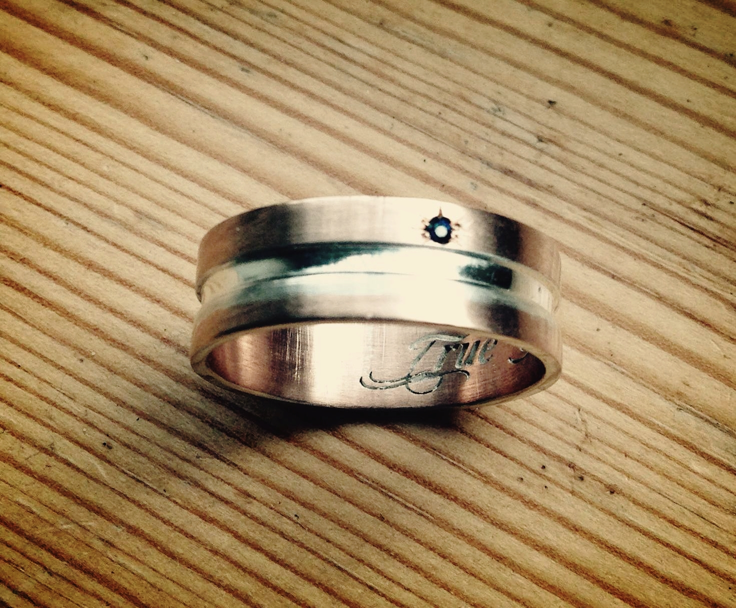 bespoke jewellery design rose gold wedding band