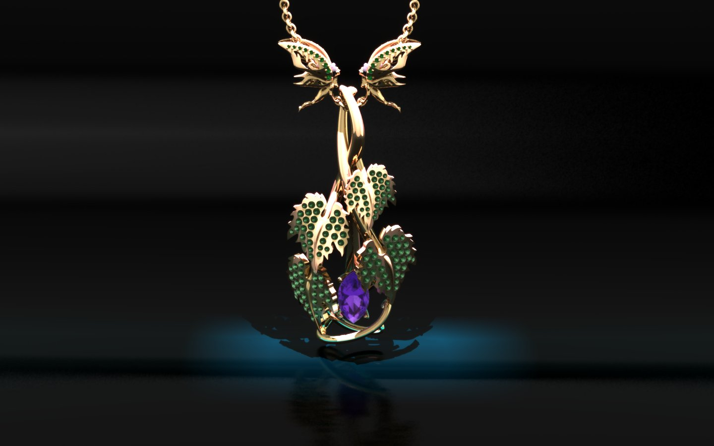 Award wining jewellery design CAD model