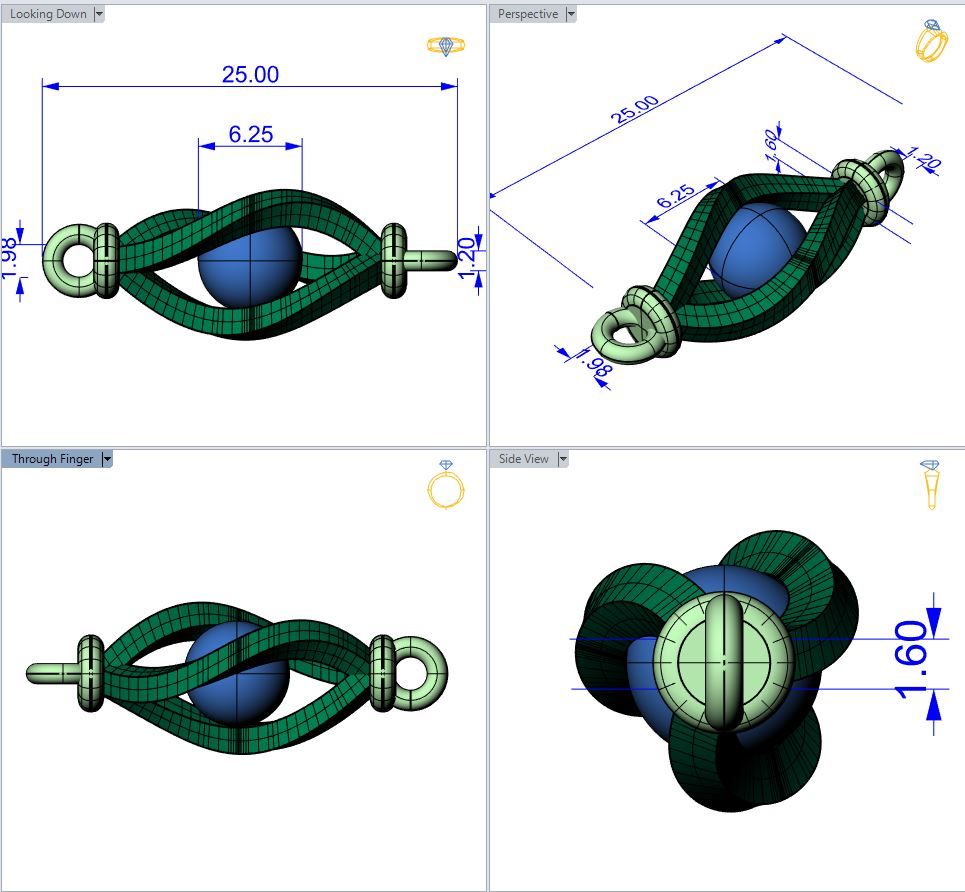 Rhino 5 CAD courses for beginners tailored to jewellery designers